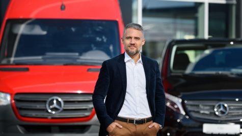 Batiste Pascalin, noul Managing Director al Mercedes-BenzVans România