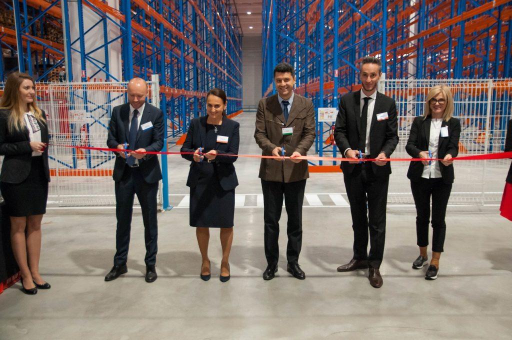 FM Logistic inaugurare depozit de produse farmaceutice
