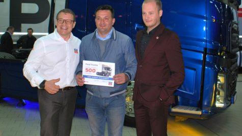 Ford Trucks a livrat camionul cu numărul 500 în România