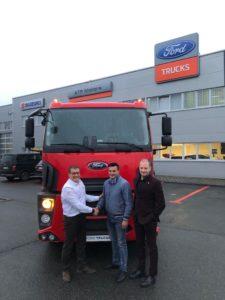 Ford Trucks camionul cu numărul 500