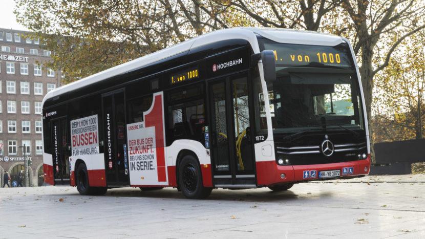 Mercedes-Benz autobuz electric eCitaro