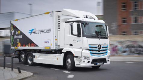 Mercedes eActros, testat de noi clienți