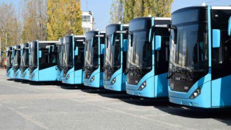Primele autobuze Otokar au ajuns în București