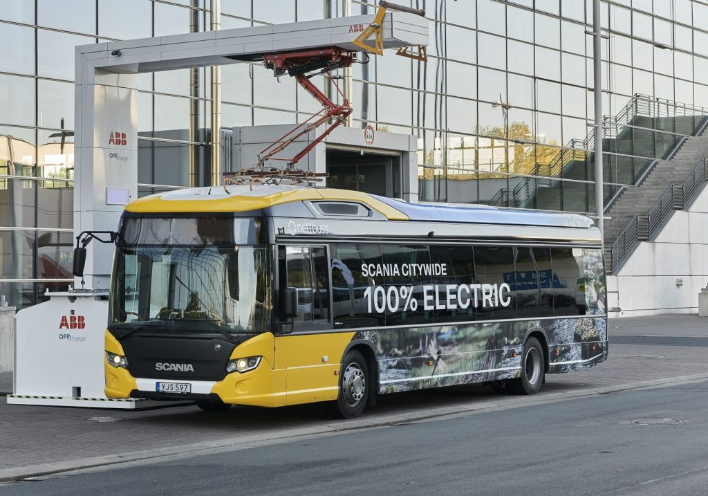 autobuzul electric Scania