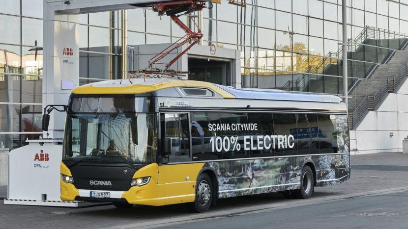 autobuzul electric Scania