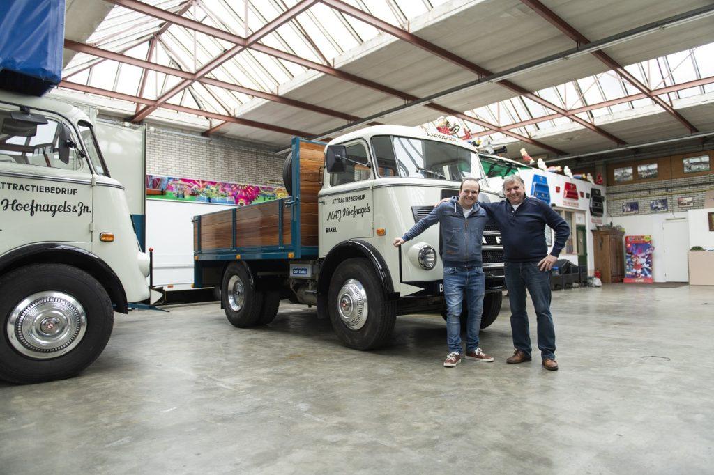 Cel mai vechi camion DAF folosit DAF A1600 din1968