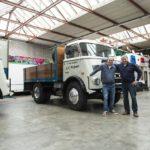 A fost găsit cel mai vechi camion DAF încă folosit