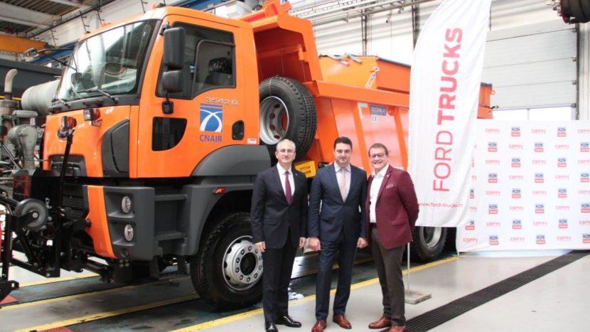 Ford Trucks livrare 103 autobasculante 6x4 pentru CNAIR