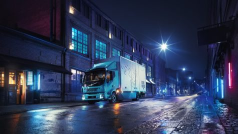 Volvo FL Electric, testat în Gotheborg