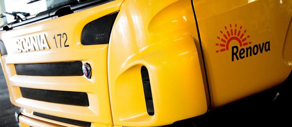Scania Renoca autogunoieră cu celulă de combustie