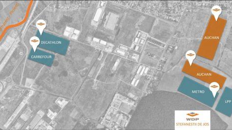 WDP va construi un depozit pentru Auchan lângă București
