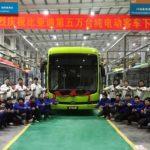 BYD a produs 50.000 de autobuze electrice
