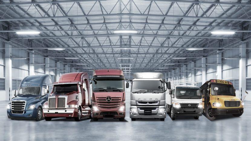 Daimler Trucks rezultate 2018
