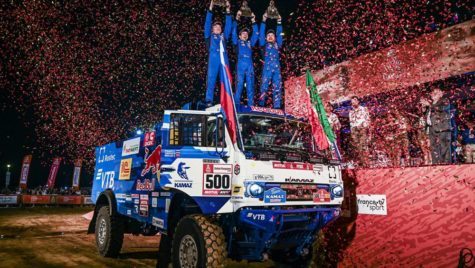 Dakar 2019: Victorie Kamaz, 4 camioane Iveco în Top 10