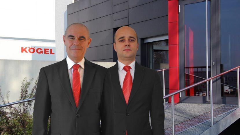Kögel în România: Luigi Meclea - director de vânzări, Marius Popescu - Key Account Manager