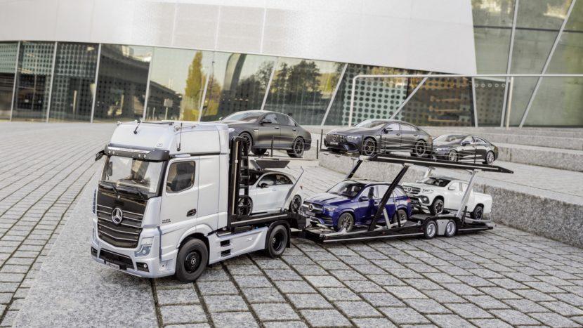 Macheta 1-18 transportor auto Mercedes-Benz Actros