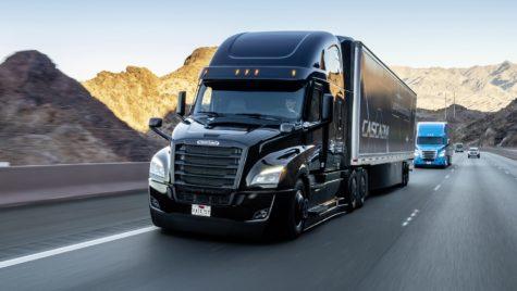Noul Cascadia dispune de condus autonom de nivelul 2