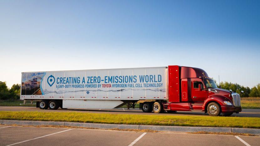 PACCAR CES 2019 Kenworth-T680-Fuel-Cell