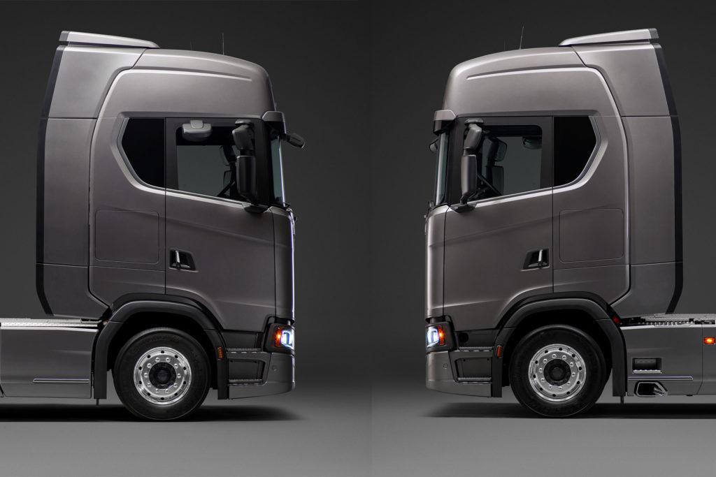 Scania ajustarea deflectorului exterior