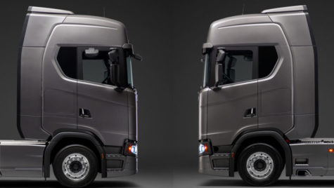 Scania introduce un buton pentru ajustarea deflectorului
