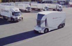 DB Schenker folosește camionul electric autonom T-pod