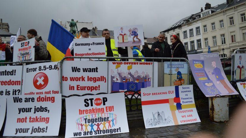 protest UNTRR Pachetul Mobilitate