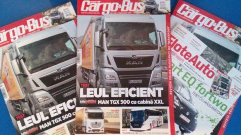 A apărut Cargo&Bus nr. 269, ediția februarie 2019