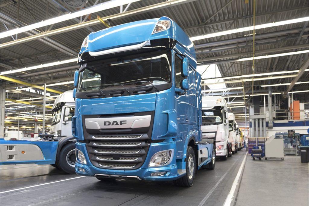 DAF record de vânzări în 2018