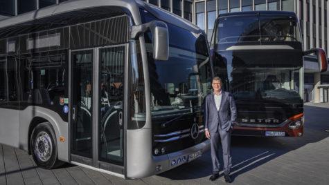 Vânzări în creștere pentru Daimler Buses în 2018