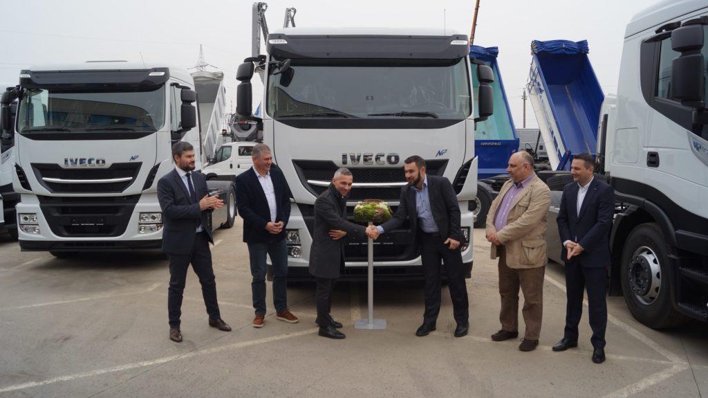 Iveco prima flotă de camioane CNG din România Ness Proiect