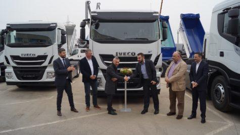 Iveco a livrat prima flotă de camioane CNG din România