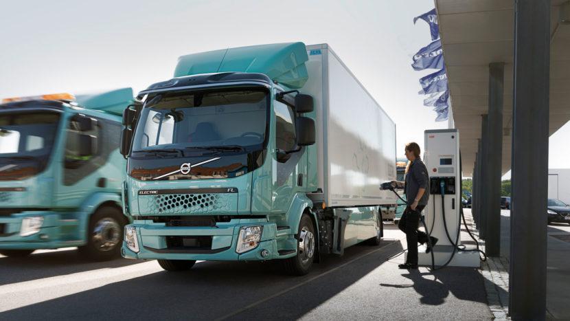 Primele camioane electrice Volvo FL Electric distributie