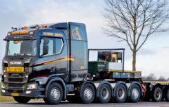 Cel mai greu Scania: S 730 cu 5 axe