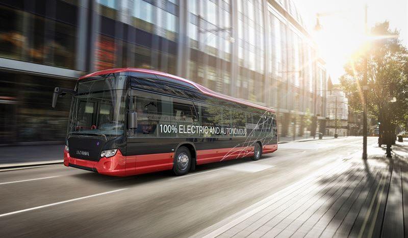 Scania autobuze electrice autonome Nobina Suedia