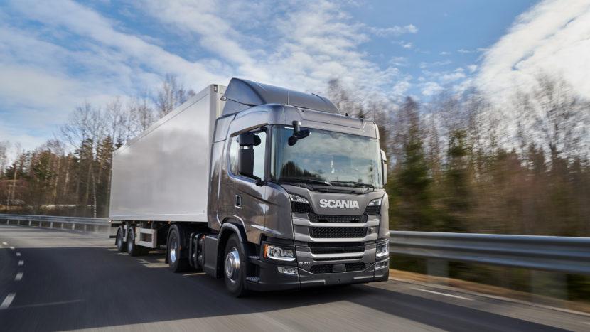 Scania primele camioane CNG în România