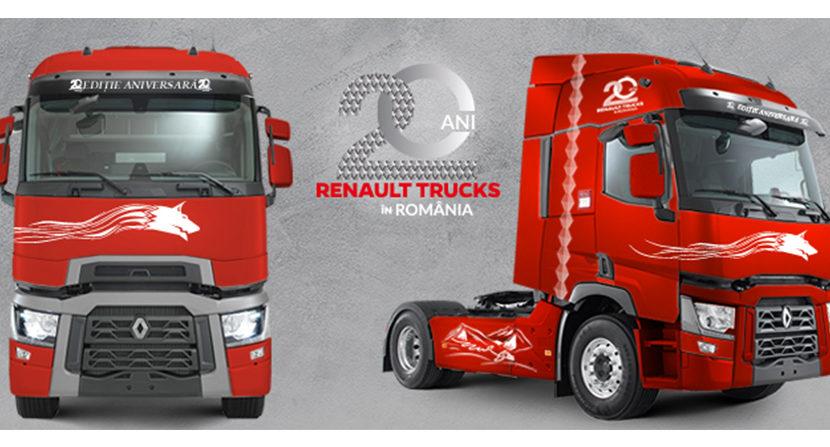 Seria specială Renault Trucks 20 de ani