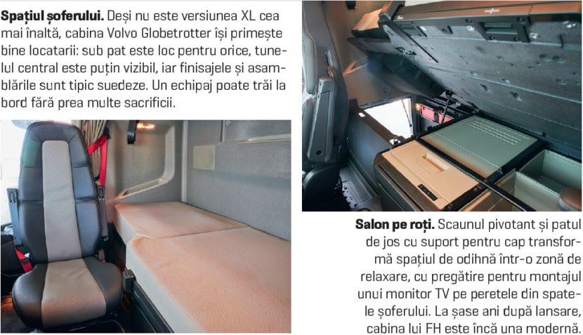 Volvo FH 460 LNG interior living