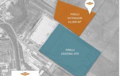 WDP va construi o hală de 60.000 mp pentruPirelli