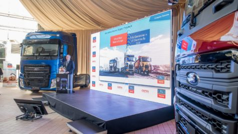 Ford Trucks, lider în segmentele de construcţii și vehicule municipale