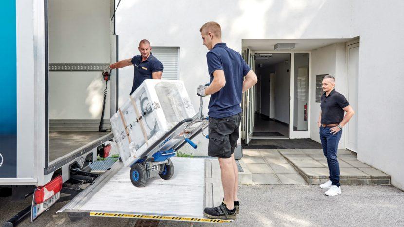 Gebrueder Weiss livrări la domiciliu în Romania