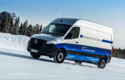 Mercedes-Benz eSprinter, testat cu succes la Cercul Polar