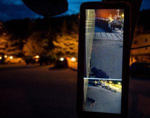 Mercedes-Benz noul Actros MirrorCam oglinzi noaptea parcare