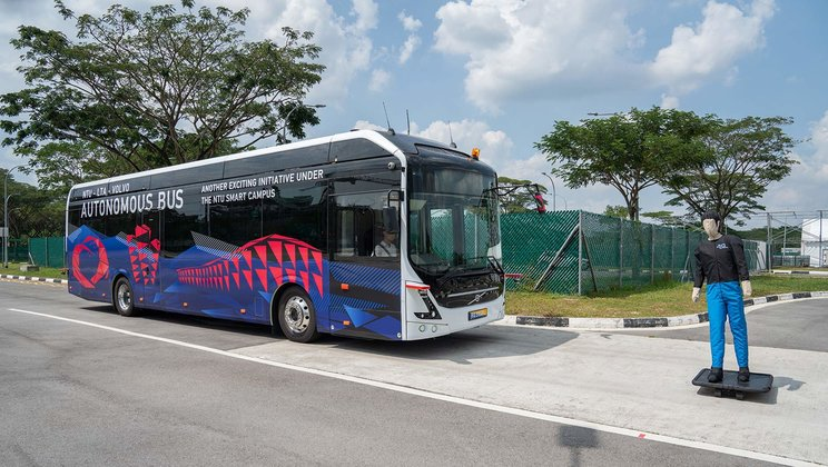 Primul autobuz autonom de dimensiuni normale