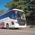 Test Scania Touring exterior