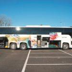 Test Scania Touring exterior bagaje