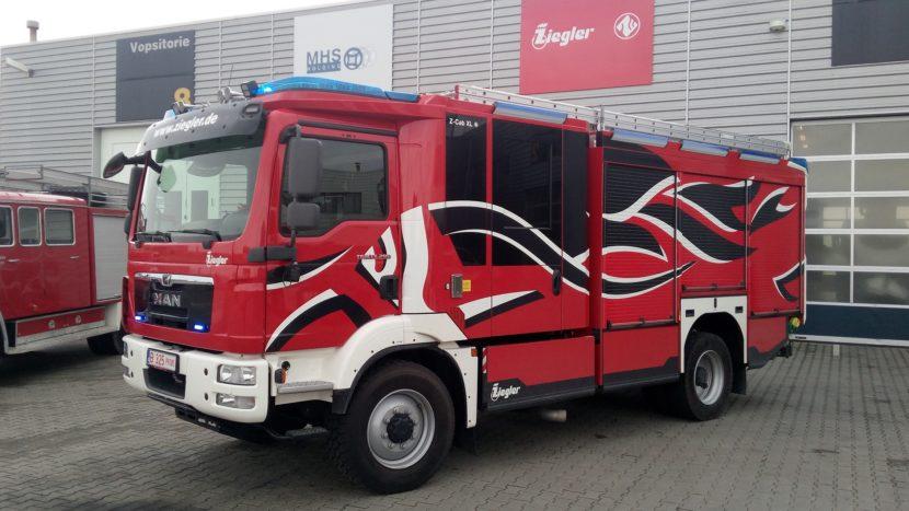 Ziegler va asambla masini de pompieri in Romania