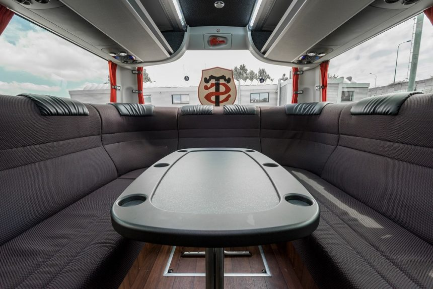 autocar VIP Scania Glory Stade Toulousain