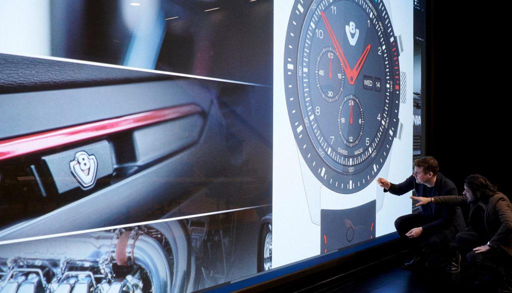 ceasuri Scania V8 proiectare