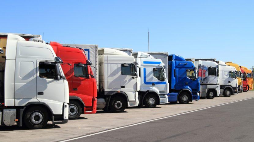 locuri de parcare sigure pentru camioane studiu CE Restricția de duminică pentru camioane