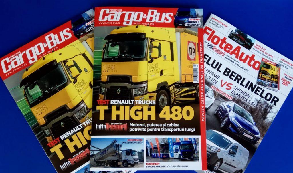 Cargo&Bus 271 FloteAuto54 aprilie 2019